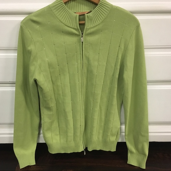 076edeffc673f6  Belldini  Rhinestone cardigan sweater L